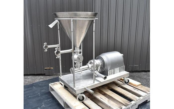 """USED CENTRIFUGAL PUMP, 2"""" X 1.5"""", STAINLESS STEEL, SANITARY"""