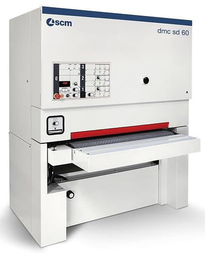 "SCM Group DMC sd60 RCS135 , 53"" Two Head Wide belt Sander, Veneer"
