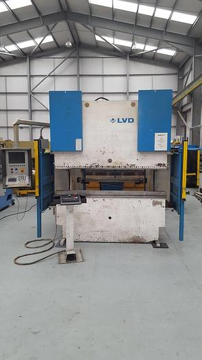 Used LVD PPEB 2m x 80 ton 8 axis press brake