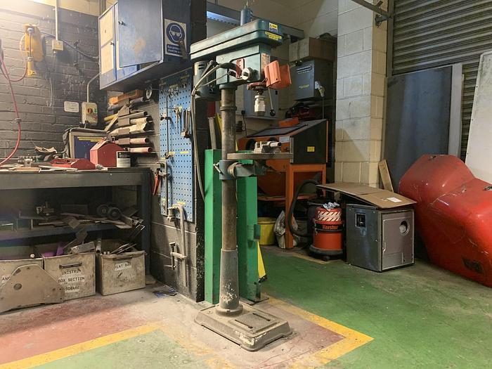 Used NAEROK PID19  Pillar Bench Drill Press