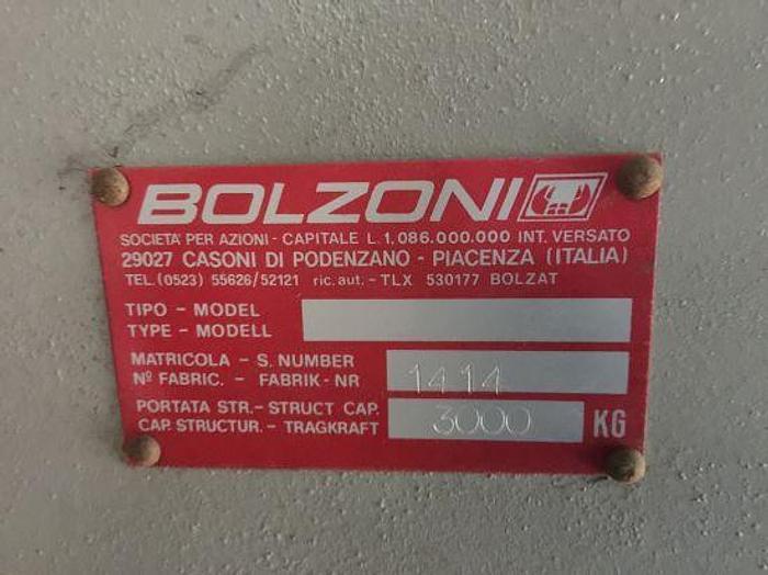 Pedana di carico Bolzoni