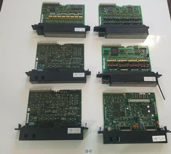 Used *PREOWNED* GE FANUC MIXED LOT OF 6 POWER SUPPLY UNITS IC697BEM711
