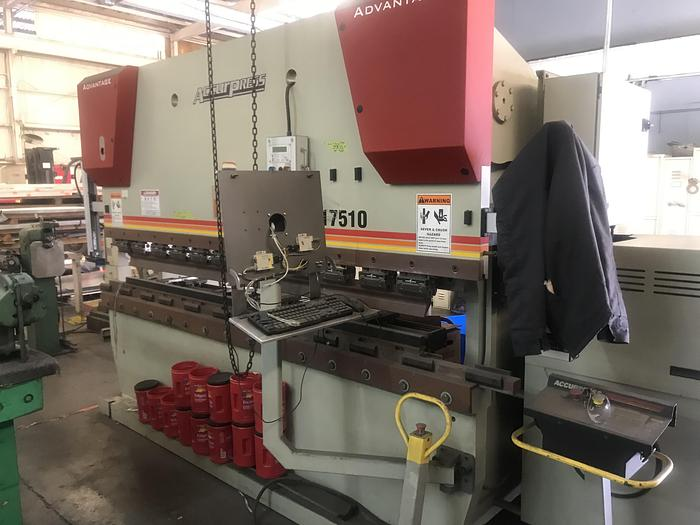 Used 2007 Accurpress 717510