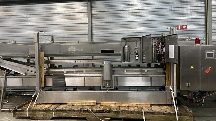 Used Meyn 4000/400 electric fryer