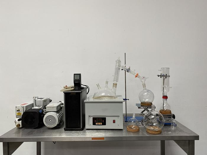 Used Summit Research  Short Path Distillation System w/ Vacuum Pumps,Glassware, & More