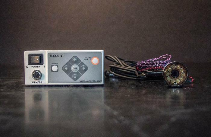 Used Sony Camera Control Unit DXC-LS1 and MBL-3LS Camera DC 12V (3697)