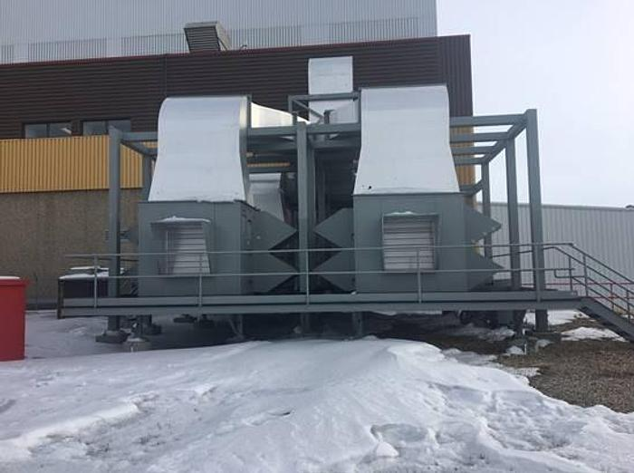 Used Two Emerson HVAC 60 ton AHU