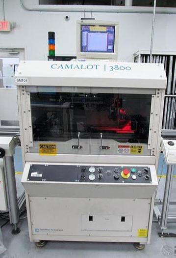 Used Camalot Speedline 3800 Inline Dispenser, touch probe, vision, 635 valve #30020