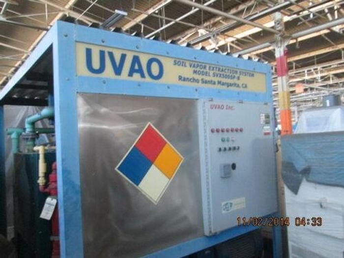 500 CFM UVAO SOLAR VAPOR EXTRACTION SYSTEM