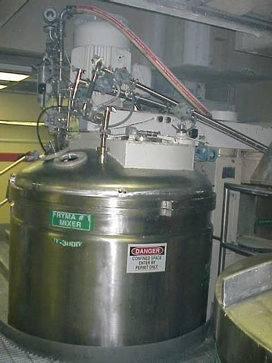 Used 600 GALLON (2400 LITER) FRYMA VACUUM PROCESSING MIXER – S/S – JACKETED (#9039)