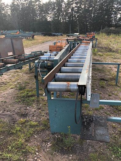 Used Roller conveyor for lumber transportation