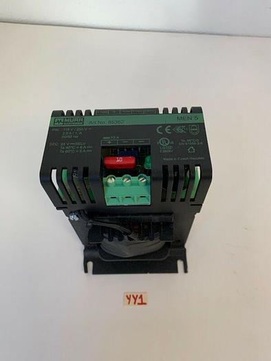 Murr Elektronik 85362 Men 5 Power Supply 24VDC 5A Output 115/230VAC AC Input New