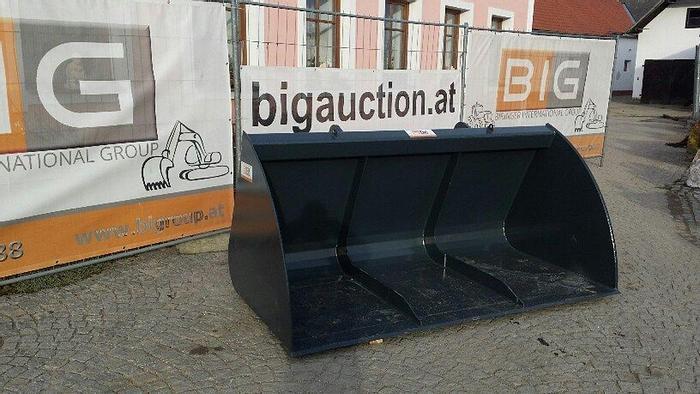 BIG Volumenschaufel 240cm mit Euro Aufnahme