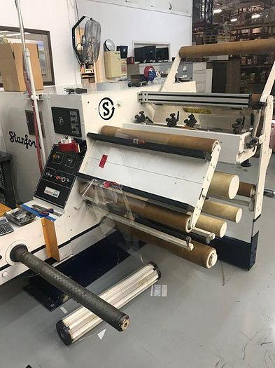 "Used 30"" WIDE STANFORD DUPLEX SLITTER MODEL 638"