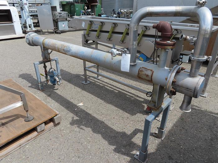 Used Stainless Steel Tube-In-Shell Heat Exchanger
