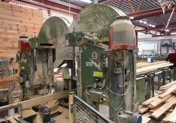 Used Twin bandsaw Stenner 105