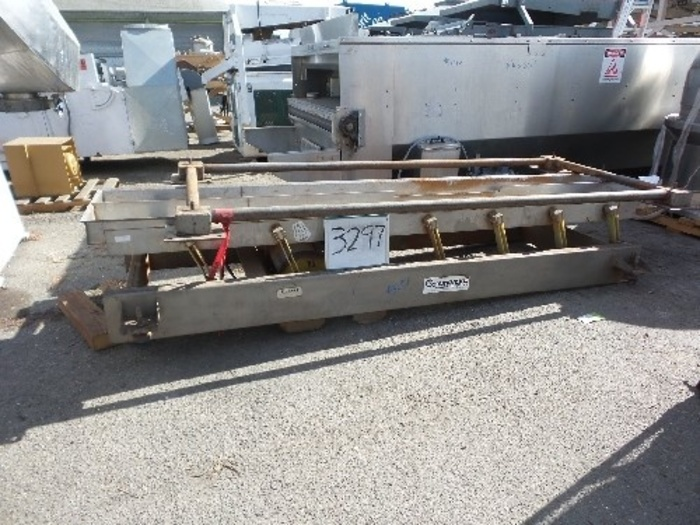 24'' Wide x 13' Long Dual Lane Shaker/Conveyor #3297