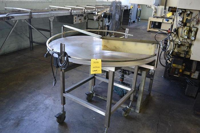 """Used 40"""" Stainless Turntable"""