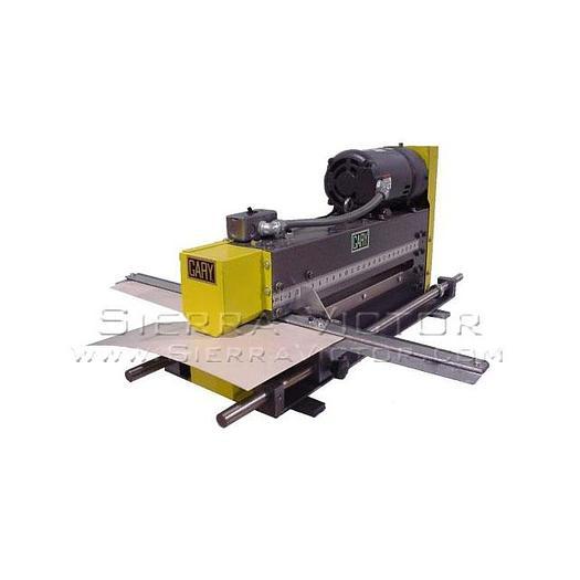 GARY MACHINERY Single Wheel Slitter 3354