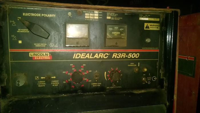 500 Amp Lincoln Model IdealArc R3R--500 Welder