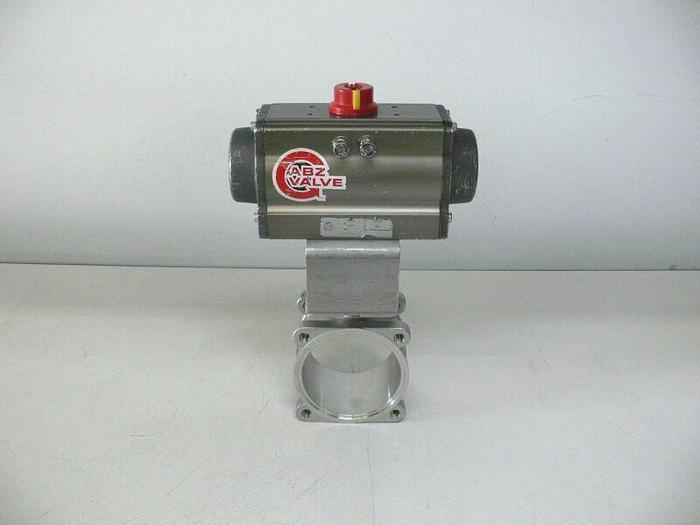 Used ABZ 80DA Pneumatic Actuator Valve 150 PSI Max