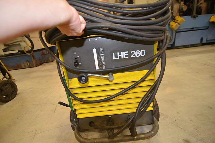 Used D48 - WELDING MACHINE - ESAB LHE 260