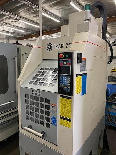 Used Southwestern TRAK 2op Portable Vertical Machining Center Mini Mill #5841