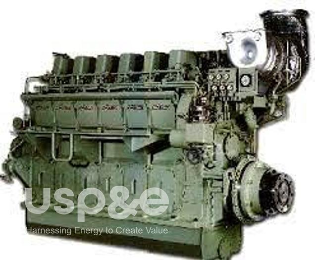 Used 51 MW 1997 Used Niigata 18V32CLX/60 HFO Generator