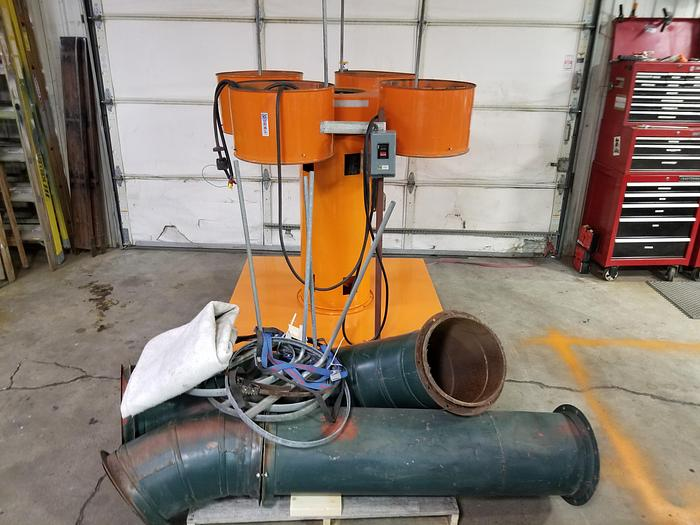 Used Coral GAM 4C Dust Collector