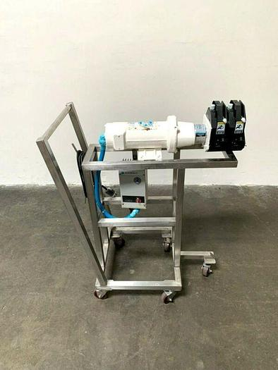 Used Master Flex I/P 77601-60 Easy-Load Peristaltic Pump Skid w/ 1/2 HP Motor & Drive