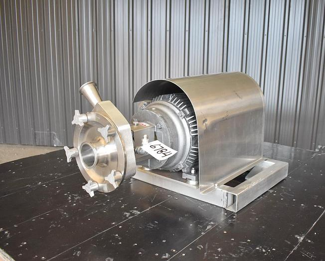 """Used USED FRISTAM CENTRIFUGAL PUMP, 3"""" X 2"""", STAINLESS STEEL, SANITARY"""