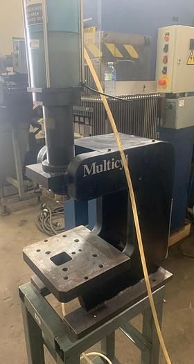 Multicyl 12 1/2 Tons Air Press XL-25-5-9 Cylinder- single acting- 3 Available