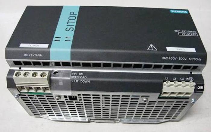 Stromversorgung SIEMENS 6EP1437-3BA00 SITOP power 40