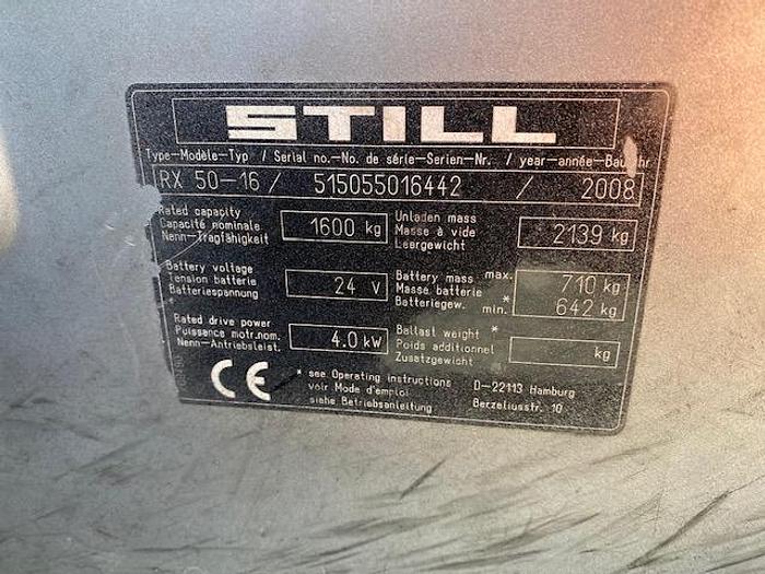 2008 Still RX50-16