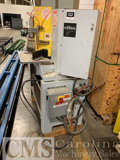 Used Pistorius MN-302S Double Sided Miter Saw