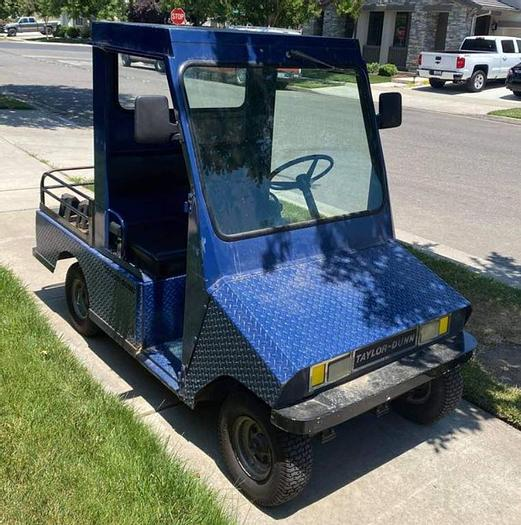 Used Taylor Dunn Industrial Cart