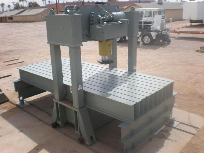 Used 200 Ton Atlas-Parker Hydraulic Straightening Press