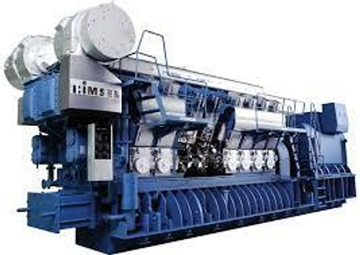 110 MW Used Hyundai 20H32/40V Diesel Power Plant