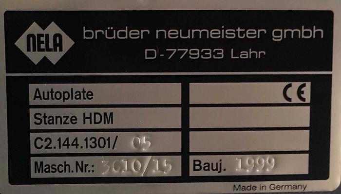 1999 Heidelberg C2.144.1301/05