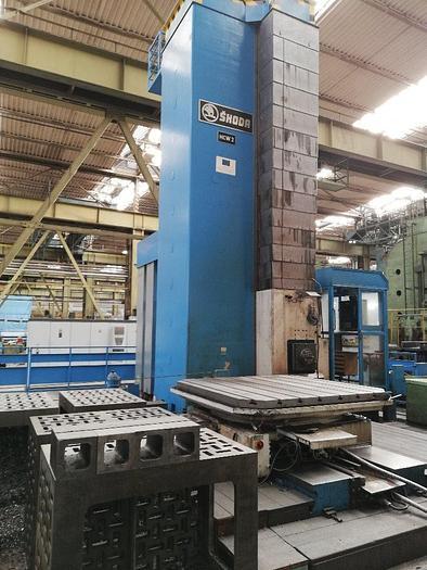 2013 SKODA Boring mills WD200A/HCW2 CNC