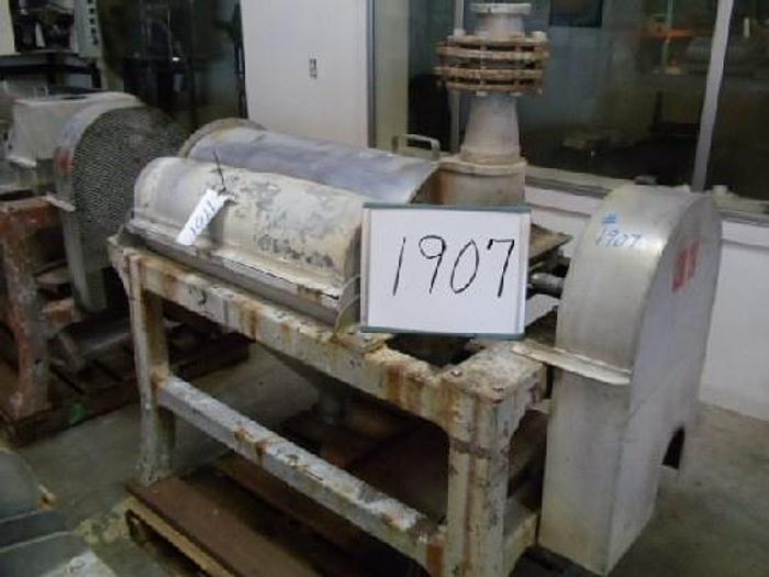 Used FMC Model 100 Pulper