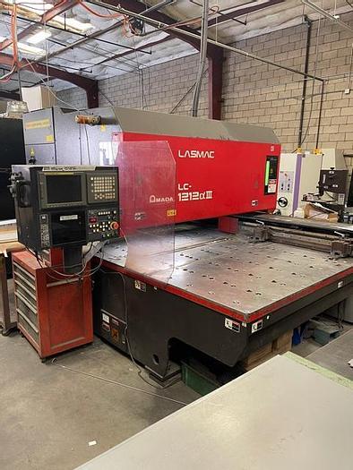 Used 2001 2000 Watt Amada Pulsar 1212A-III CNC Laser
