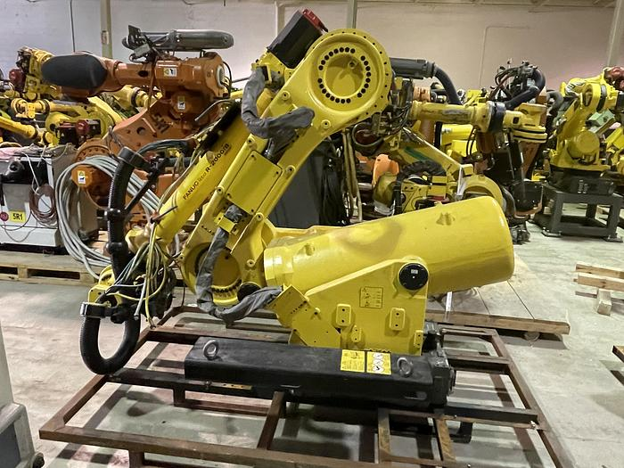 Used R2000iB/100P 6 AXIS ROBOT WITH R30iA CONTROLLER 3500 MM X 100 KG