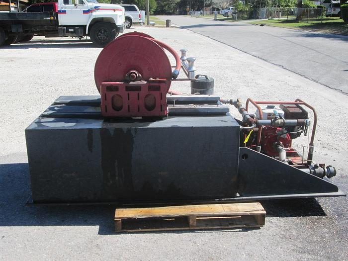 Used CET Brush Fire Pump Skid Unit