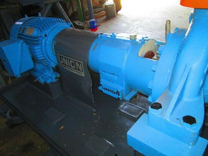 EXPENSIVE 50 H.P. 3 X 4 X 13 UNION CENTRIFUGAL PUMP MODEL RS-P -1B / 330 GPM