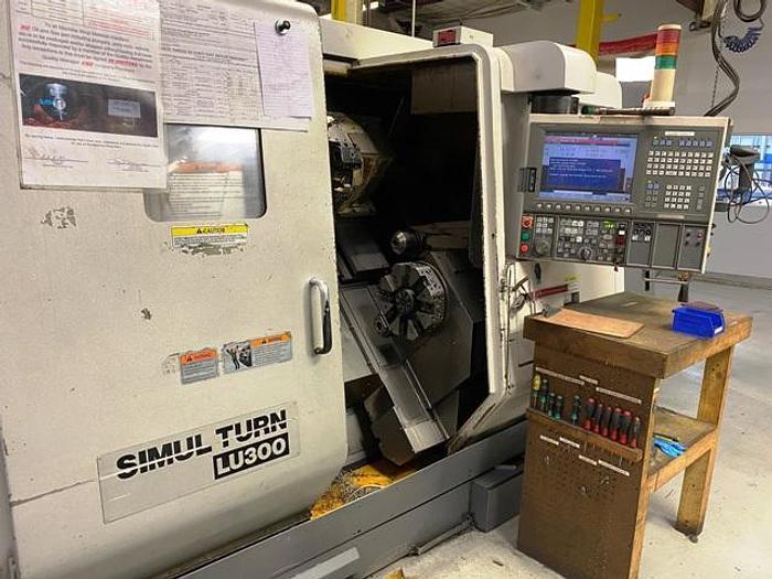 Used 2012 Okuma LU300-600 4-Axis CNC Turning Center