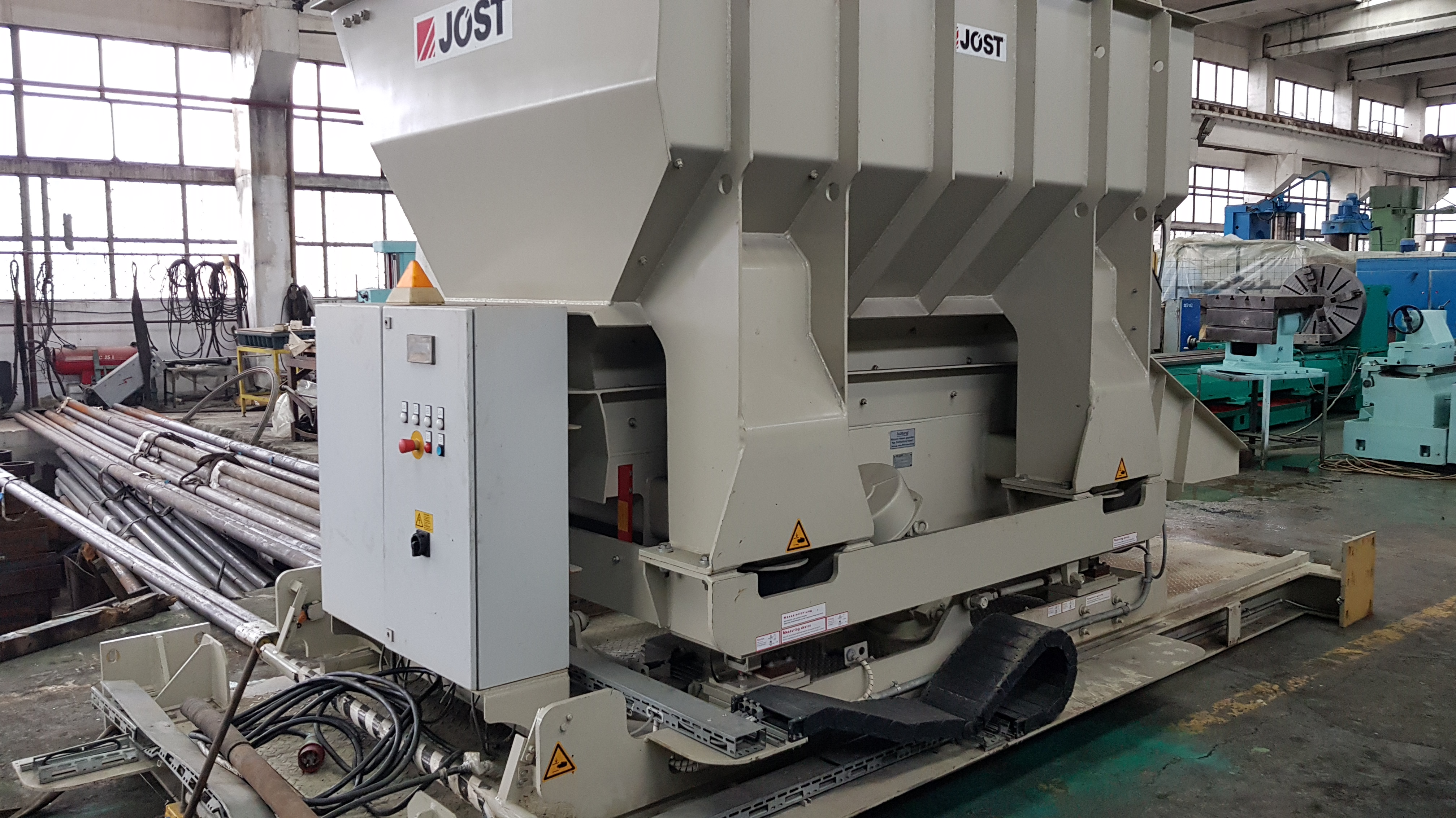 2010 Furnace charging machine JOST model OUL 800/850 - 200 X 4000
