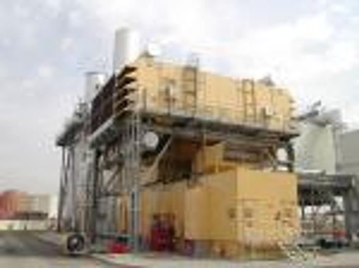 Used 46 MW 2005 Used GE LM6000PC Cogen Natural Gas Power Plant