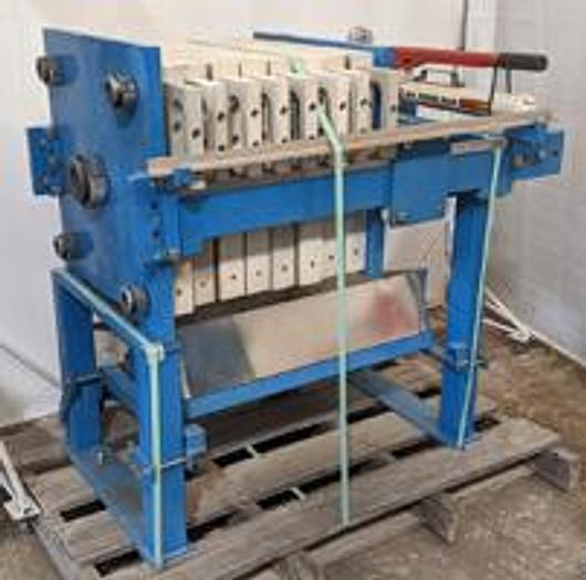 Used FP-61: Used 1 cu. ft. Hoffland brand Filter Press