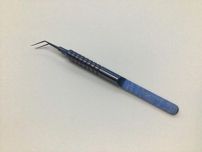 Used Altomed Utrata Capsulorhexis forceps 100mm A6022